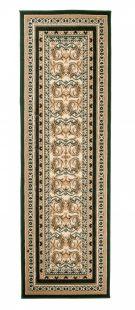 Atlas Tappeto Passatoia Tradizionale Verde Classico