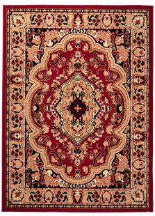 Atlas Tappeto Classico Rosso Tradizionale Ornamento