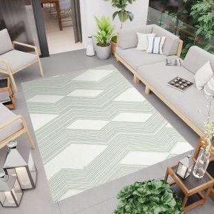 Jungle Tappeto Sisal Geometrico Moderno Design Chiaro